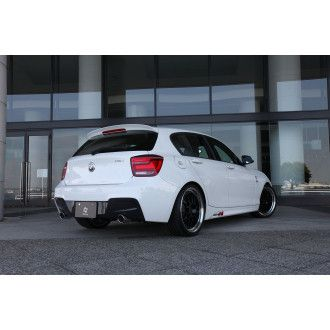 3Ddesign carbon diffuser for BMW 1 Series F20 with M-Tech