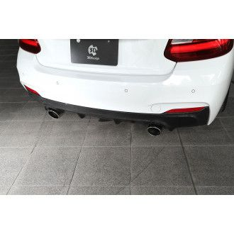 3Ddesign carbon diffuser for BMW 2 Series F22 with M-Tech