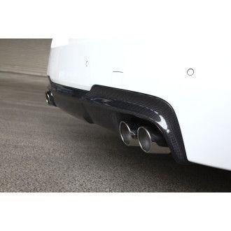 3Ddesign carbon diffuser Duplex AGA for BMW 5 F10 F11 with M-Tech