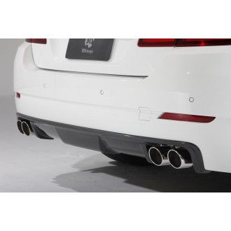 3Ddesign carbon diffuser Duplex AGA 5 Series for BMW F10