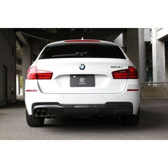 3Ddesign carbon diffuser for BMW 5 Series F10 F11 with M-Tech