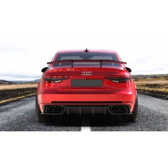Boca Carbon diffuser for Audi B9 RS4