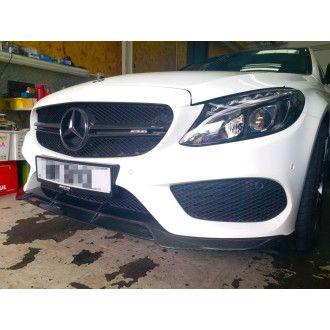 Boca Carbon frontlip Mercurie for Mercedes Benz C-Klasse W205|C205 C200|C250|C300|C43 AMG Vorfacelift nur AMG-Paket