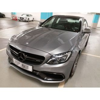 Boca Carbon hood for Mercedes C63S Black Series Style