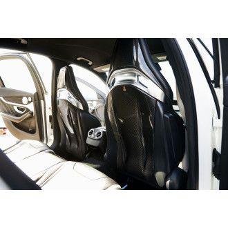 Boca Carbon seatcover for Mercedes Benz C-Klasse W205 C205 C63S AMG