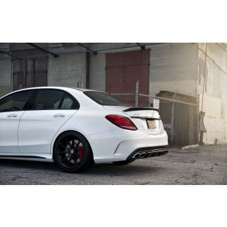 Boca Carbon rear spoiler for Mercedes C63S W205 Coupe Edition 1 Big Style