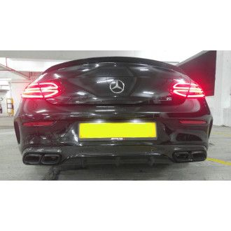 Boca carbon diffuser for Mercedes C205 C63 - similar Edition 1