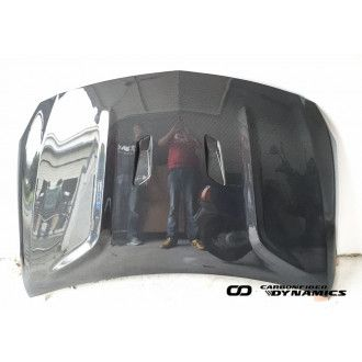 Boca carbon hood Mercedes Benz W176 for - Black Series Style