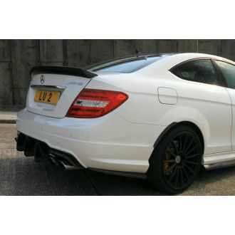 Boca carbon rear Moldings for Mercedes Benz C63 AMG