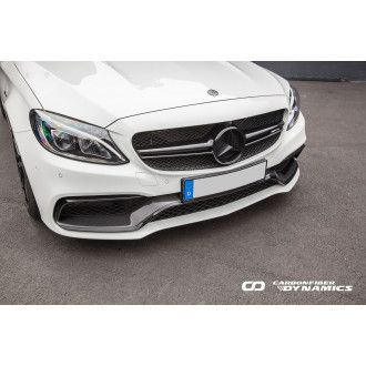 Boca carbon front bumper for Mercedes W205 C205 S205 C63 - similar Edition 1