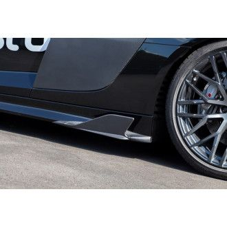 Capristo Carbon sidefins for Audi R8 V10