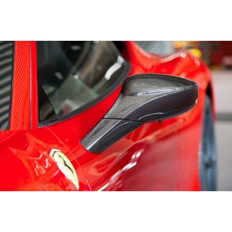 Capristo Carbon mirrors for Ferrari 488 GTB 488 GTS