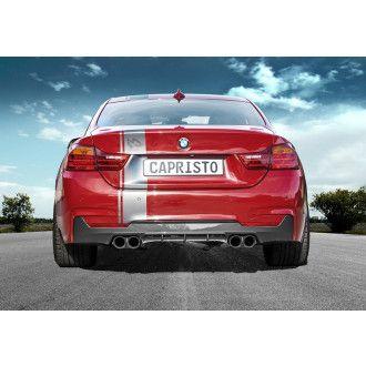 Capristo Carbon diffuser for BMW 4er F32 428i PUR