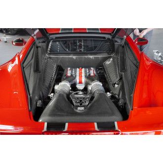 Capristo carbon engine cover for Ferrari 458 Speciale Italia
