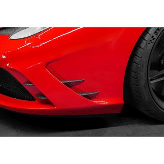 Capristo carbon front fin for Ferrari 458 Speciale