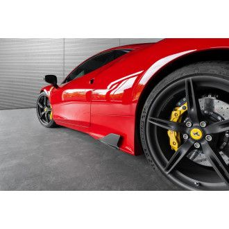 Capristo carbon side fin for Ferrari 458 Speciale