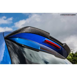 MTC carbon roof spoiler for Golf 6 R20 GTI