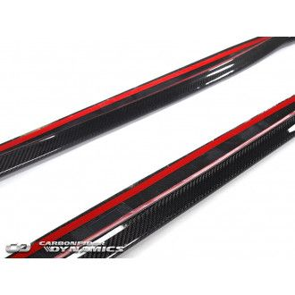 Boca carbon side skirts for BMW 3 Series E92 E93 M3