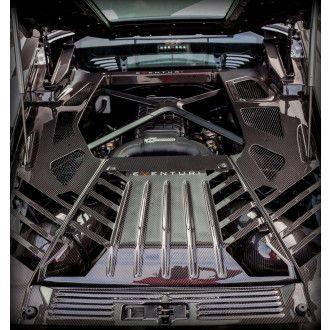 Eventuri carbon kevlar engine cover for Lamborghini Huracan