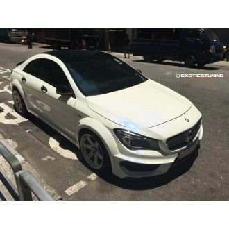 MTC carbon bodykit for Mercedes CLA C117 with AMG-Paket