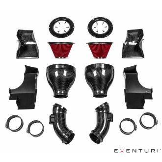Eventuri carbon kevlar intake for BMW F10 M5