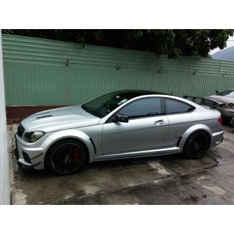 Boca canards Mercedes Benz C204 for C63 AMG