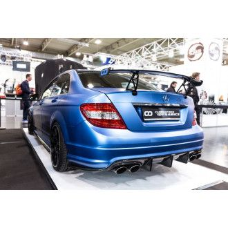Boca carbon diffuser Race Type 1 for Mercedes Benz C63 AMG C204 W204