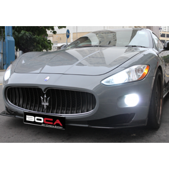 Boca carbon front lip for Maserati GranTurismo Coupe