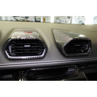 Seiler Performance Carbon Lüftungsdüsen 4tlg. für Lamborghini Huracan