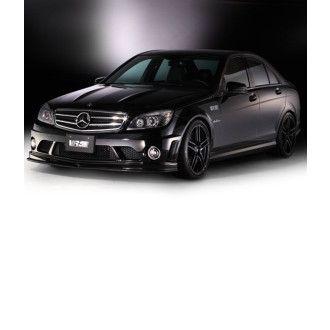 Varis carbon front lip spoiler for Mercedes Benz C63 AMG W204
