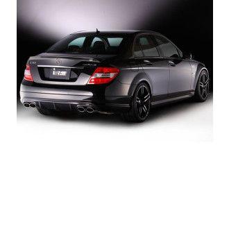 Varis carbon spoiler for Mercedes Benz C63 AMG W204 (VSDC)