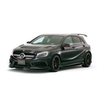Varis carbon front lip spoiler Mercedes Benz W176 A45 AMG for