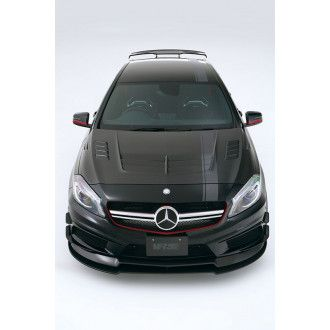 Varis carbon Cooling System bonnet 2 Mercedes Benz W176 A45 AMG