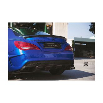 MTC carbon diffuser for Mercedes CLA 117 with AMG-Paket