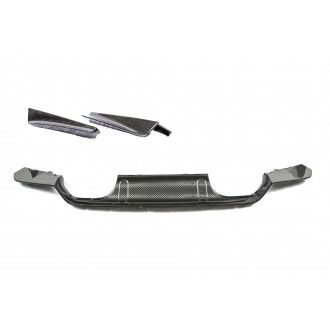 PSM Dynamic Carbon Rear Diffuser w/ rear extensions for BMW 3er F80 M3