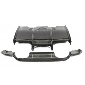 PSM Dynamic Carbon Rear Diffuser w/ Under Tray Combo for BMW 3er F80 M3