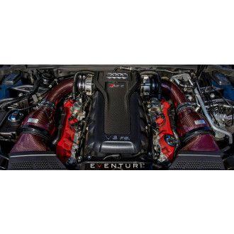 Eventuri Carbon Kevlar Motorabdeckung für Audi RS4 RS5