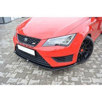 Maxton Design ABS Frontlippe für Seat Leon MK3 Cupra FR Carbon Look
