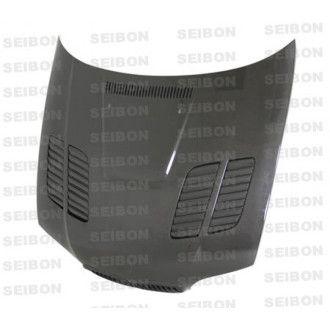 Seibon carbon hood for BMW 3er E46 coupé and convertible facelift 2002 - 2005 GTR-Style