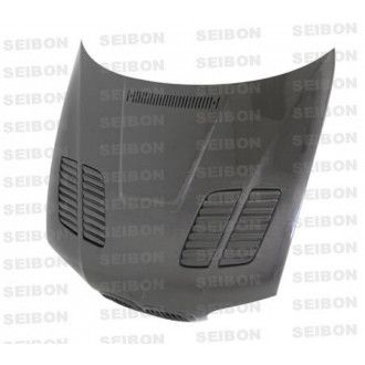 Seibon carbon hood for BMW 3er E46 M3 coupé and convertible 2001 - 2006 GTR-Style