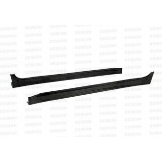 Seibon carbon SIDE SKIRTS (pair) for MITSUBISHI LANCER EVO X 2008 - 2012 VR-style