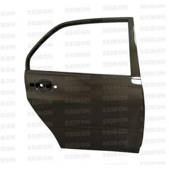 Seibon carbon REAR DOORS (pair) for MITSUBISHI LANCER EVO VIII / IX 2003 - 2007