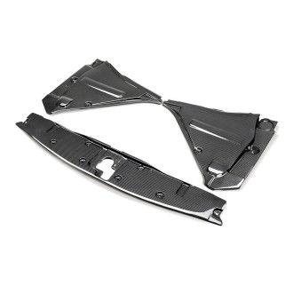 Seibon carbon COOLING PANEL SET (3-piece) for NISSAN GTR R35 2009 - 2011