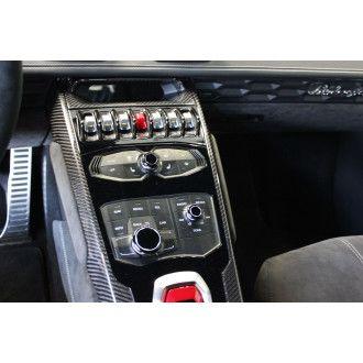 Seiler Performance Carbon Mittelkonsole für Lamborghini Huracan - seitlich