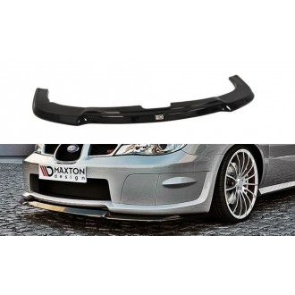 Maxton Design ABS Frontlippe HAWKEYE für Subaru Impreza WRX MK2 GD STI Carbon Look