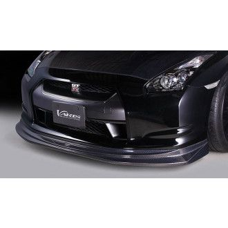 Varis carbon front lip spoiler for Nissan R35 GT-R