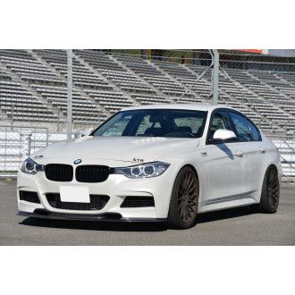 Varis carbon front lip spoiler for BMW 3 Series F30 with M-Tech