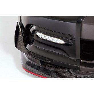 Varis carbon canards for Nissan R35 GT-R