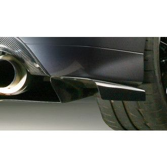 Varis carbon rear diffuser extension for Mitsubishi Lancer Evo 9