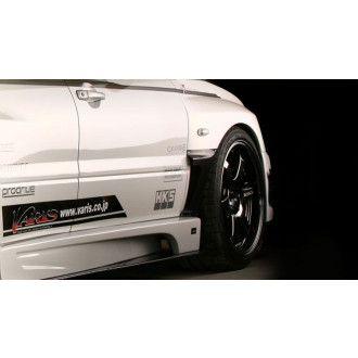 Varis carbon Side Air panel for Mitsubishi Lancer Evo 9